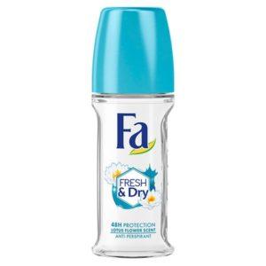Fa Fresh And Dry Deodorant Roll On 50ml