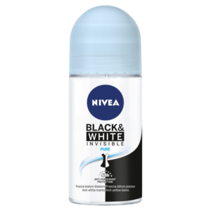 Nivea Black And White Pure Deodorant Roll On For Women 50ml