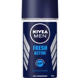 Nivea Men Deep Black Carbon Darkwood Deodorant Roll On 50ml