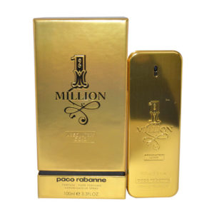 Paco Rabanne 1 Million Absolutely Gold Pure For Men 100ml