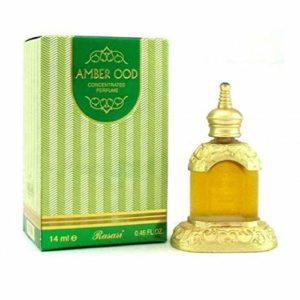 Rasasi Amber Ood Concentrated Perfume Attar 14ml