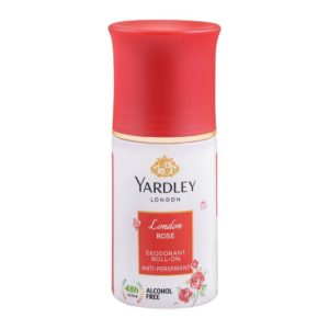 Yardley London Rose Deodorant Roll On 50ml
